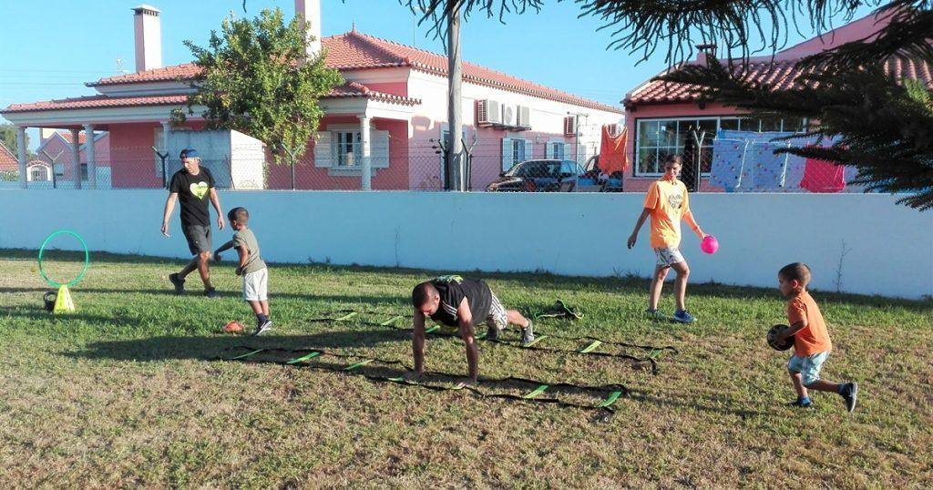 Exercicios para crianças