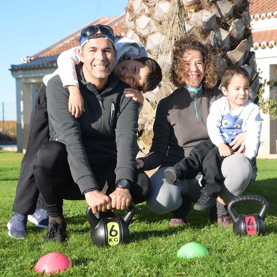 Desporto em Familia family fit