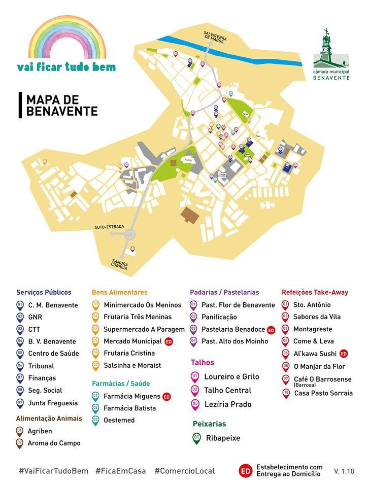 Mapa Benavente