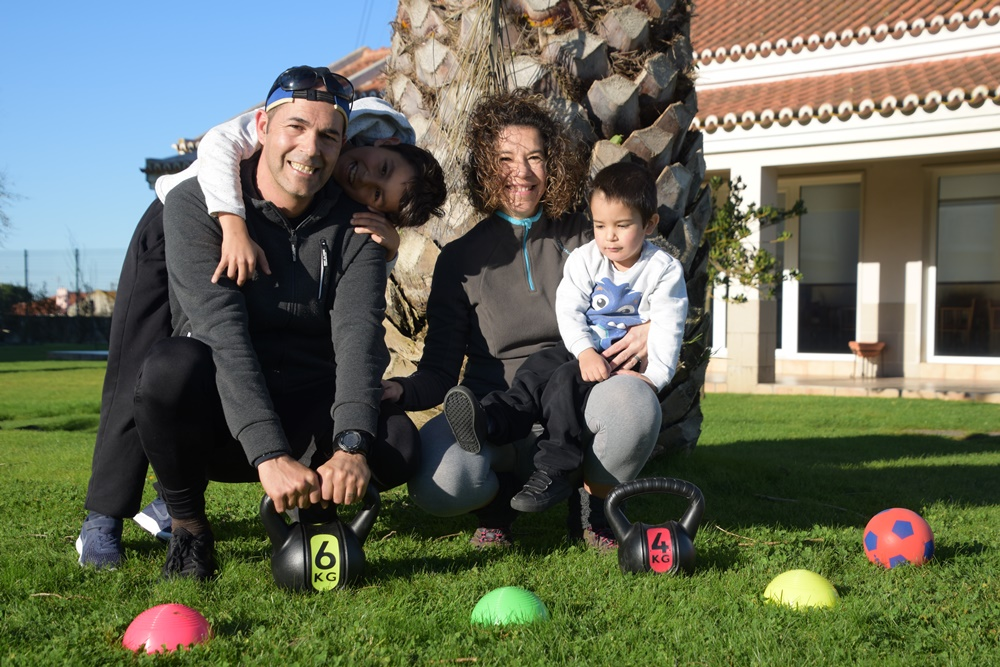 treino em familia